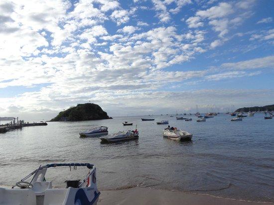 Praia Canto: Pôr  de sol no Canto