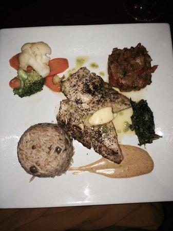 Shirvan Watermill Restaurant: fantastic fish dish!