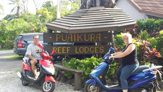 The Black Pearl at Puaikura: here we are