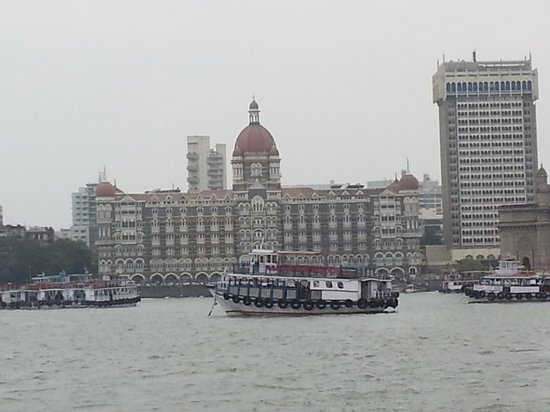 The Taj Mahal Palace: The C view from the Sea!