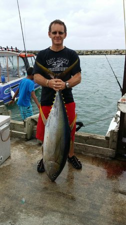 Marlin Queen Fishing Charters: the big one