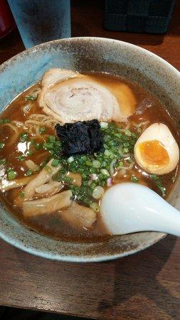 Sapporo Ramen Miharu : Standard wabishi shoyu noodle