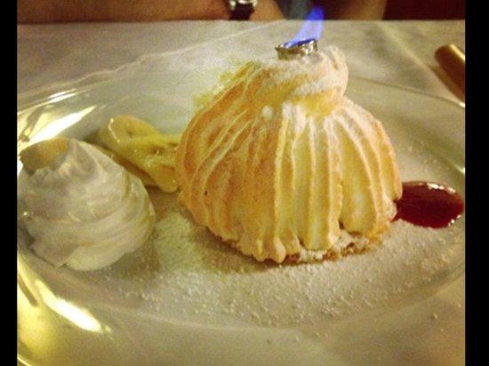 Thokoly Restaurant : Fried ice cream