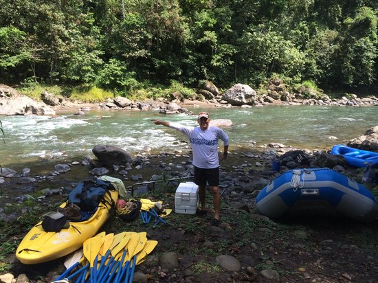 Pacuare River : Getting Ready (Day 1) - This Way:-)