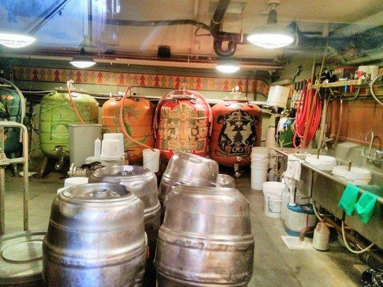 McMenamins Old St. Francis School: brewing equipment