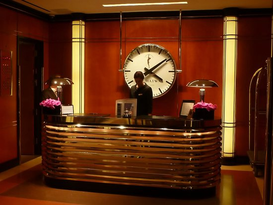 The Chatwal, A Luxury Collection Hotel, New York: Hotel reception