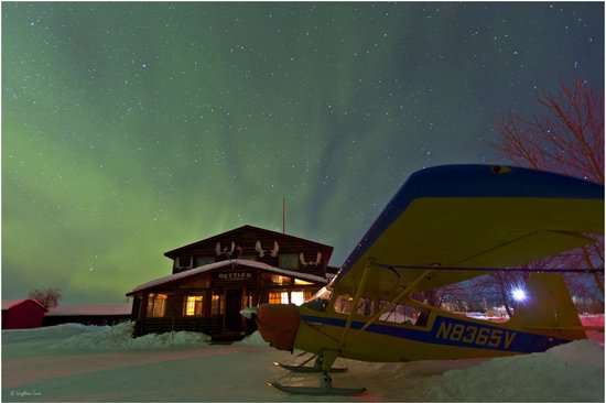 Bettles Lodge: Northernlights