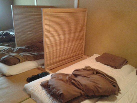 Guest House Sakura Komachi: The Japanese style dorm with futon