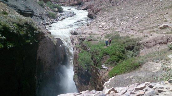 Cotahuasi River Canyon : Catarata de Sipia