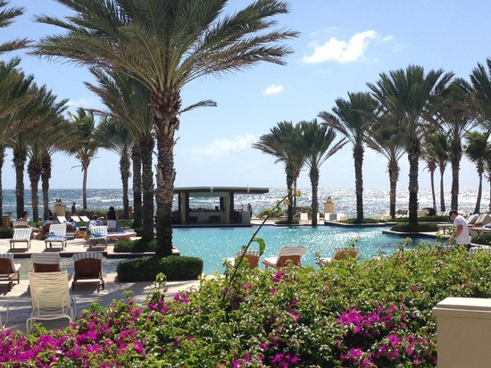 The Westin Dawn Beach Resort & Spa, St. Maarten: View From Pool Side Breakfast
