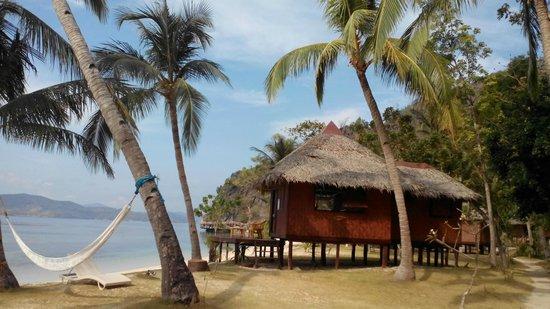 Sangat Island Dive Resort : Beach hut