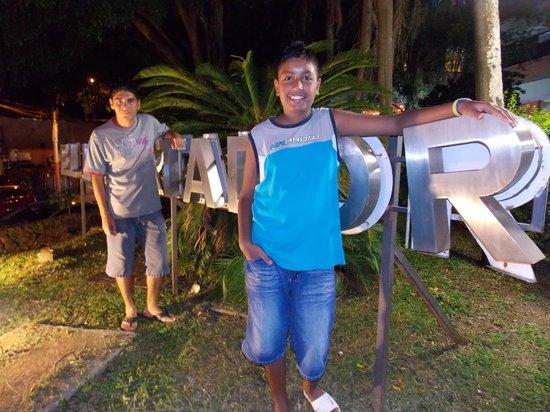 El Libertador: frente del hotel