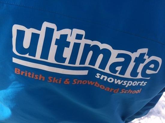 Ultimate Snowsports Tignes: jacket logo
