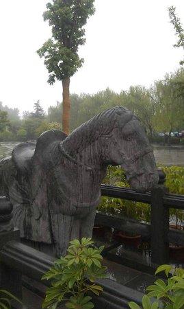 White Horse Temple : White horse