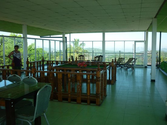 Delma Mount View Hotel: roof top