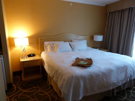 Hampton Inn & Suites Downtown Vancouver: 10階の部屋です