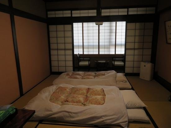 Ryokan Asunaro : our double room