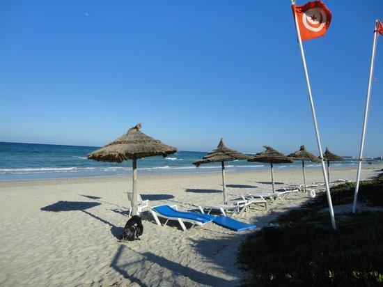 Mahdia Palace Thalasso: La plage privée