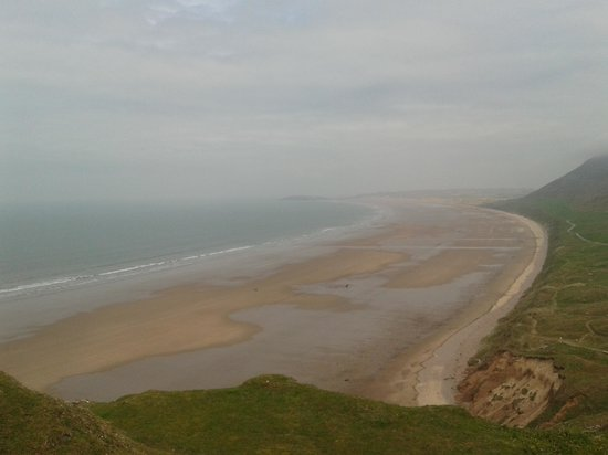 Rhossili Bay : Sweeping bay