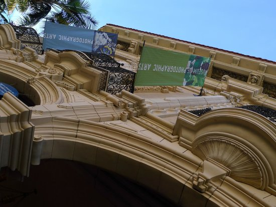 Museum of Photographic Arts (MoPA): Look for the banners!