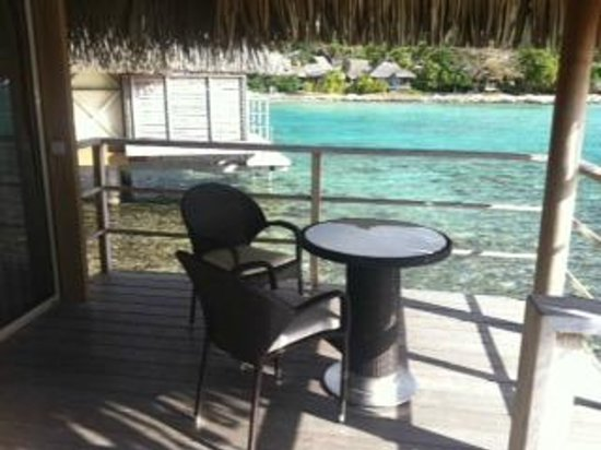 InterContinental Tahiti Resort & Spa : テラス