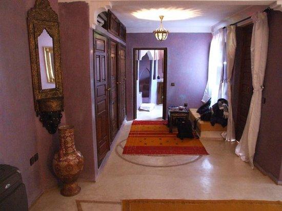Riad Imilchil : La splendida suite al piano superiore