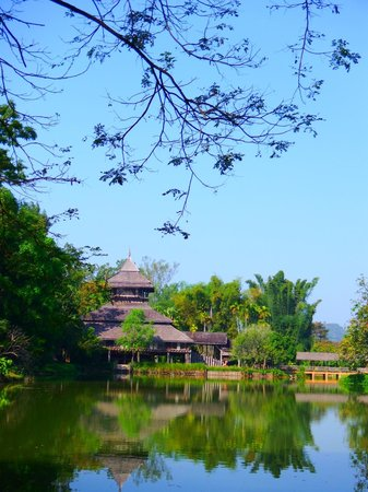 Mae Fah Luang Art and Culture Park : Other view of Haw Kham