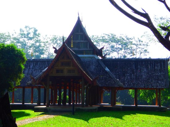 Mae Fah Luang Art and Culture Park : Sala