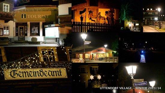 Edelweiss Ski Chalet & Spa: Uttendorf Village @ Night