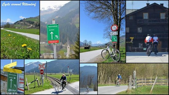 Edelweiss Ski Chalet & Spa: Uttendorf Bike Trails