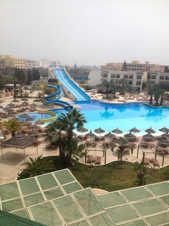 Soviva Resort : view from our room x