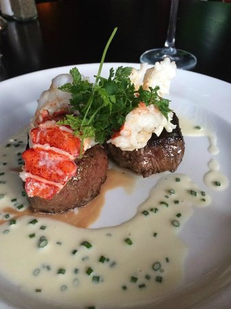 The Capital Grille: Sirloin & Lobster Tail