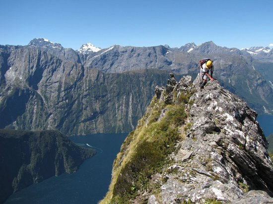 Southern Outdoor Instruction: Climbing Mitre Peak in Milford Sound