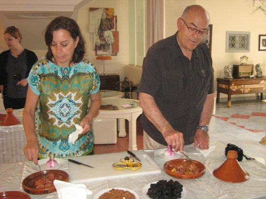 Riad Noos Noos : Antonio à la cuisine