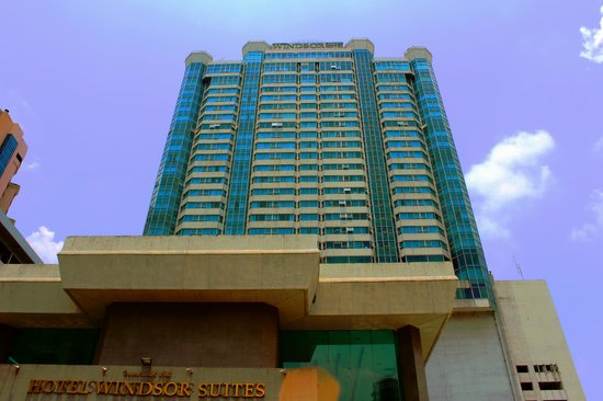 Hotel Windsor Suites and Convention : genel bina