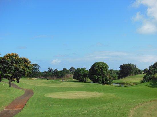 Puakea Golf Course: のんぴり楽しむ