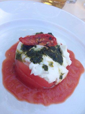 Macadam Bistrot : Tomato and Mozzarella