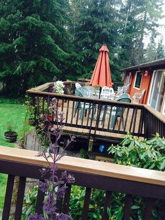 Misty Valley Inn B&B: the garden and the patio