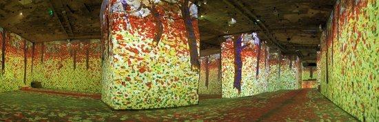 Carrières de Lumières : Klimt et Vienne, un siècle d'or et de couleurs
