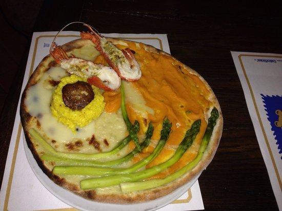 La Scuderia: Pizza primaverile:)))