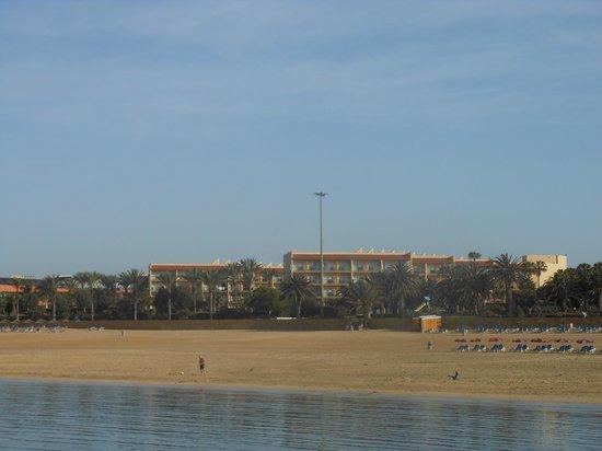 Barceló Fuerteventura Thalasso Spa: il Barcelò dalla spiaggia