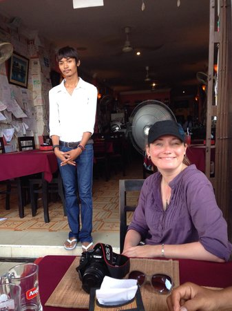Khmer Saravan: After lunch glow :)