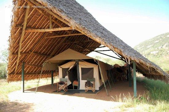 Ithumba Camp: Eines der Zelte