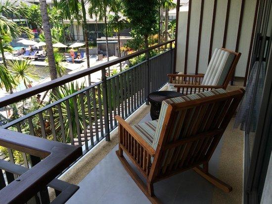 Mandarava Resort and Spa : Balcony swimming pool view.