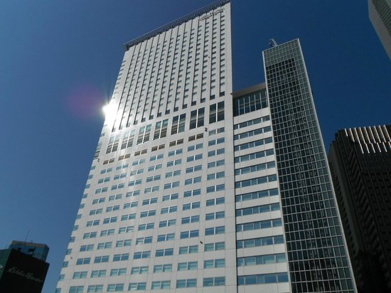 Hotel Century Southern Tower: hotel from outside - rather nondescript...