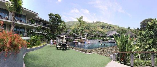 Mandarava Resort and Spa : Stunning hill view