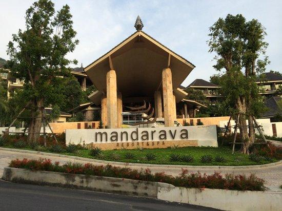 Mandarava Resort and Spa : Entrance view.