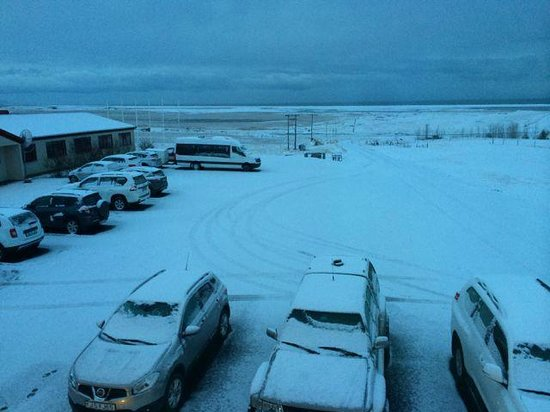 Hotel Smyrlabjorg: View from the winter - 2nd day