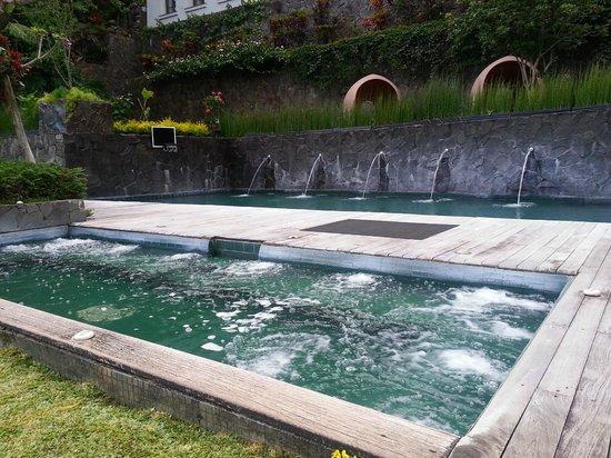 Padma Hotel Bandung: Heated pool and Jacuzzi
