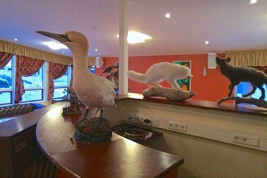 Hotel Smyrlabjorg: Dining room decorations